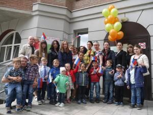 01 июня Врака-Забияка поздравила детей с праздником!